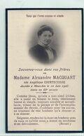 09 - 2020 - GOH - PAS DE CALAIS - 62 - MEURCHIN Près De BETHUNE - Carte Mortuaire - Mme Macquart Née Courtecuisse 1925 - Geboorte & Doop