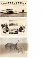 3 X Postkarte Dornier Do X, Deutschlandflug 1932 Mit Broschüre Zur Erinnerung An Den Rheinlandflug 1932 - 1919-1938