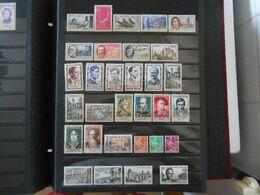 FRANCE  YT1091/1141 ANNEE 1957 COMPLETE** - 1950-1959