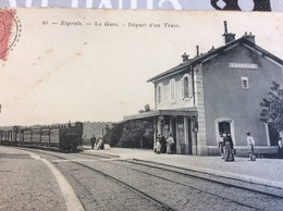 ♥️ ESPRELS. La Gare Départ D'un Train - Ohne Zuordnung