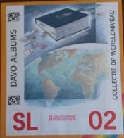 Supplément DAVO Danemark/Danmark  SL 02 Comportant Les Feuilles N° 100, 101, 102, Et B14     TB. - Album & Raccoglitori