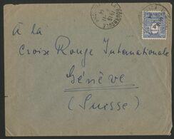 N° 627 SEUL Sur Pli Pour La Suisse En 1944 (voir Description) - 1944-45 Arco Di Trionfo