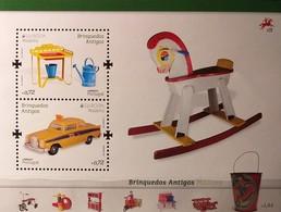 Madeira 2015 - Europa 2015  - MNH As Scan - Children's Toys - FACE VALUE!!! - Souvenir Sheet Of 2 Stamps - Madeira
