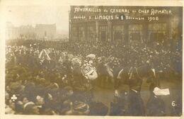 87 - Limoges - Carte Photo - Funerailles Du Général En Chef Altmayer - Décéfé à Limoges  Le 1 Decembre 1908 - Limoges