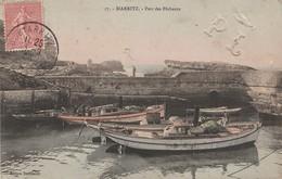 S10-64) BIARRITZ - PORT DES PECHEURS - ( ANIMEE - BATEAUX - COLORISEE ) - Biarritz