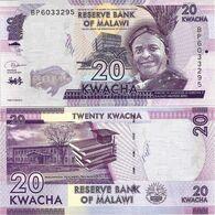 MALAWI       20 Kwacha       P-63[e]       1.1.2019       UNC  [ Sign. Kabambe ] - Malawi