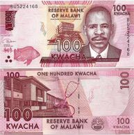 MALAWI       100 Kwacha       P-65[d]       1.1.2019       UNC  [ Sign. Kabambe ] - Malawi