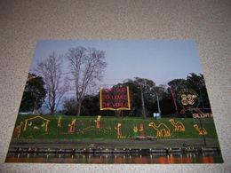 """2009 CHRISTMAS DISPLAY """"83rd CITY Of LIGHTS"""" NATCHITOCHES, LOUISIANA POSTCARD - Other"""