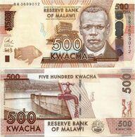 MALAWI       500 Kwacha       P-66[b]       1.1.2017       UNC  [ Sign. Chuka ] - Malawi