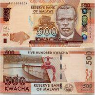 MALAWI       500 Kwacha       P-66       1.1.2014       UNC  [ Sign. Chuka ] - Malawi
