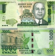 MALAWI       1000 Kwacha       P-67[c]       1.1.2017       UNC  [ Sign. Chuka ] - Malawi