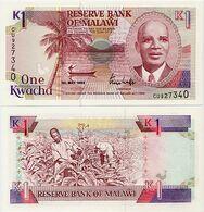 MALAWI       1 Kwacha       P-23b       1.5.1992       UNC - Malawi