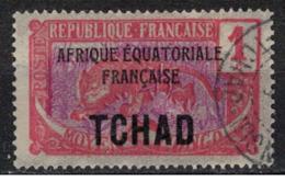 TCHAD       N°  YVERT :     19   ( 2 )     OBLITERE       ( OB   9 / 05 ) - Used Stamps