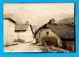 Haute-Savoie * Bernex Et La Dent D'Oche (route D'Evian Les Bains) * Photo Vers 1900 - Voir Scans - Luoghi