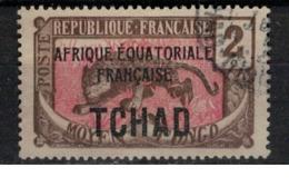 TCHAD       N°  YVERT :     20  ( 2 )   OBLITERE       ( OB   9 / 05 ) - Used Stamps