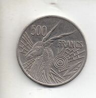 REF MON6 Monnaie Coin 500 Francs 1976 E Banque Des états De L'Afrique Centrale BEAC CFA - Coins