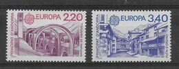 ANDORRE - EUROPA 1987 YVERT N° 358/359 ** MNH - COTE = 28 EUR. - - Ungebraucht