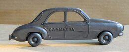 Cadeau Publicitaire - Automobile Française Années 50 - Café MASDA Sao-Paulo - Renault Frégate (Argent) - Andere