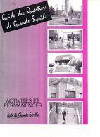 Grande Synthe Près De Dunkerque Guide Des Quartiers Format 20x14.5 De 1993, 15 Pages ( Maisons De Quartier, Géant - Books, Magazines, Comics