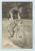 CP.  Édité Par Le PNEU CONTINENTAL Angelo GREMO De L'Équipe Automoto Tour De France 1914. Vélo, Cyclisme. - Cycling