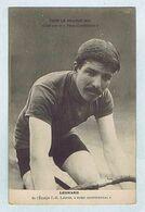 CP.  Édité Par Le PNEU CONTINENTAL Édouard LÉONARD De L'Équipe J.-B. BOUVET Tour De France 1914. Vélo, Cyclisme. - Cycling