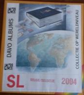 Supplément DAVO Belgie/Belgique  SL 2004 Comportant Les Feuilles N° 254 à 258, B79 à B86.     TB. - Album & Raccoglitori