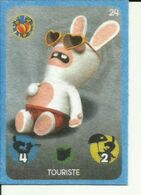 CARTE A JOUER PANINI CARREFOUR LAPIN CRETIN 24 - Kartenspiele (traditionell)