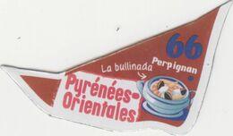 Magnet Le Gaulois - Départements - 66 - Pyrénées Orientales - Other