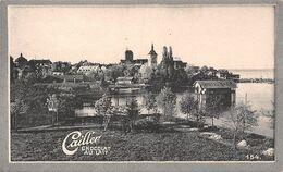 Arbon Thurgovie Thurgau 5677 Hab. Fonderie Broderie Soie - Cailler 154 - Chocolat Au Lait - Texte Au Dos  (~10 X 6 Cm) - Nestlé