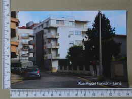 PORTUGAL - RUA MIGUEL FRANCO -  LEIRIA -   2 SCANS     - (Nº37982) - Leiria