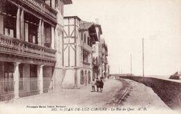 ST JEAN DE LUZ-CIBOURE La Rue Du Quai - Saint Jean De Luz