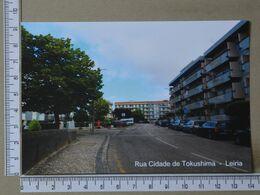 PORTUGAL - RUA CIDADE DE TOKUSHIMA -  LEIRIA -   2 SCANS     - (Nº37983) - Leiria