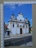 PORTUGAL - IGREJA DO ESPIRITO SANTO -  LEIRIA -   2 SCANS     - (Nº37987) - Leiria