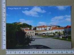 PORTUGAL - PRAÇA PAULO VI -  LEIRIA -   2 SCANS     - (Nº37992) - Leiria