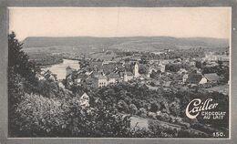 Brugg Aargau - Place D'arme - Rutenzug - 2325 Hab. - Cailler 150 - Chocolat Au Lait - Texte Au Dos  (~10 X 6 Cm) - Nestlé