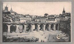 Lausanne - 49777 Hab. 5 Collines - Grand Pont 1839-44  - Cailler 160 - Chocolat Au Lait - Texte Au Dos  (~10 X 6 Cm) - Nestlé