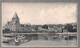 Ouchy - 1758 Hab. Deuxième Port Du Léman - Vestiges  1170  - Cailler 162 - Chocolat Au Lait - Texte Au Dos  (~10 X 6 Cm) - Nestlé