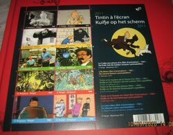 BLOK 192** Kuifje Op Het Scherm** - Bloc Tintin à L'écran MNH 4165/74** 10 Timbres Differentes - Blocks & Kleinbögen 1962-....