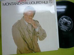 Yves Montant - 33t Vinyles - D'hier Et D'aujord'hui - Vinyl Records