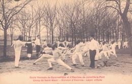 94 - JOINVILLE LE PONT / ECOLE NORMALE DE GYMNASTIQUE ET D'ESCRIME - CAMP SAINT MAUR - LECON D'EPEE - Joinville Le Pont
