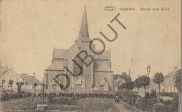 Postkaart - Carte Postale KASTERLEE - Markt Met Kerk   (B705) - Kasterlee