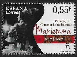 PERSONAJES - AÑO 2018 - Nº EDIFIL 5234 - 1931-Aujourd'hui: II. République - ....Juan Carlos I