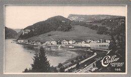 Le Pont Lac De Joux 373 Hab - 200 Ouviers Pour La Glacière - Cailler 168 - Chocolat Au Lait - Texte Au Dos  (~10 X 6 Cm) - Nestlé
