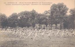 94 - JOINVILLE LE PONT / ECOLE NORMALE MILITAIRE DE GYMNASTIQUE -CENTRE D'INSTRUCTION PHYSIQUE - ESCRIME A LA BAÏONNETTE - Joinville Le Pont