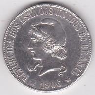 Brazil 2000 Reis 1906 , En Argent KM# 508 - Brasile