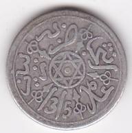 Maroc. 1 Dirham (1/10 RIAL) AH 1315 Paris. Abdül Aziz I , En Argent - Marocco