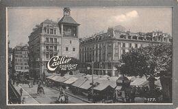 Genève - Place Bel Air - Tour De L'île - Jules César   - Cailler 177 - Chocolat Au Lait - Texte Au Dos  (~10 X 6 Cm) - Nestlé