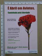 PORTUGAL - É ABRIL EM AVINTES -  VILA NOVA DE GAIA -   2 SCANS     - (Nº38023) - Porto