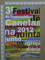PORTUGAL - 3º FESTIVAL DAS FRANCESINHAS - CANELAS -  VILA NOVA DE GAIA -   2 SCANS     - (Nº38024) - Porto