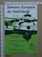 PORTUGAL - SEMANA EUROPEIA DA MOBILIDADE -  VILA NOVA DE GAIA -   2 SCANS     - (Nº38026) - Porto
